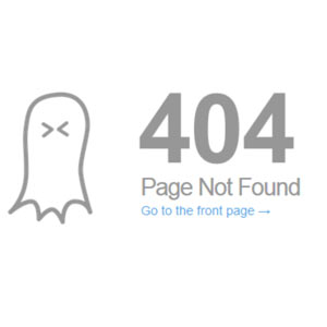 404 error leaves you without sales